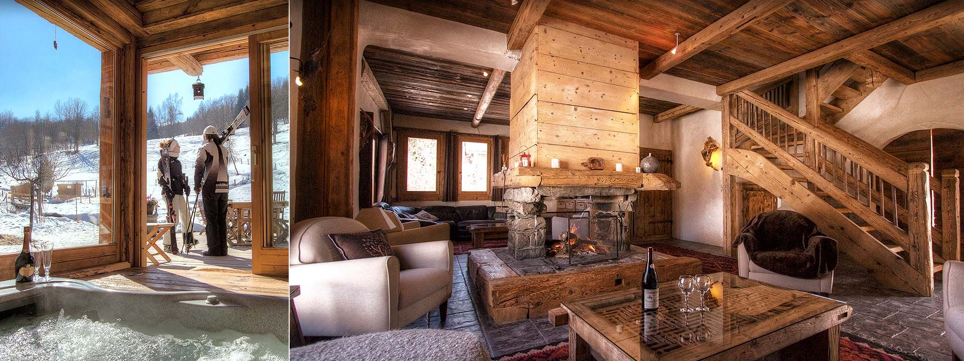 Les chalets du hameau for Photo en interieur