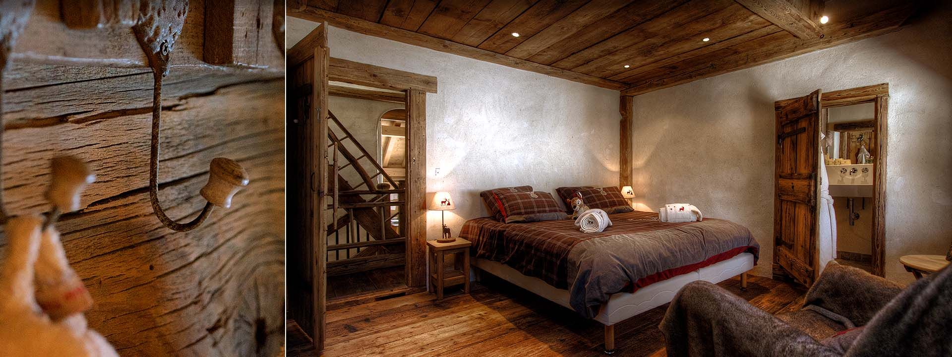 les chalets du hameau. Black Bedroom Furniture Sets. Home Design Ideas